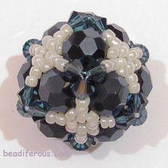 beadiferous.com - Embellishment of 12-bead base