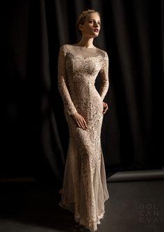 Платье - кружевное полотно, сетка / dress - lace fabric, mesh