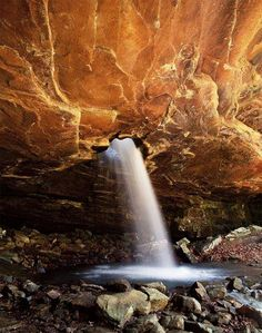 Glory Hole Waterfall, Ozark National Forest, Arkansas To book got to www.notjusttravel.com/anglia