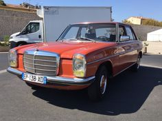 eBay: 1972 Mercedes-Benz 200-Series Base 1973 Mercedes-Benz 200 Barn find classic 94k km 4 speed manual 4 door original!! #classiccars #cars