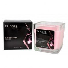 Trigger Massage Candle for Her by Perfume and Skin 10.0 oz