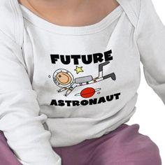 Future Astronaut T-shirts. #kids #tshirts #astronaut #cute