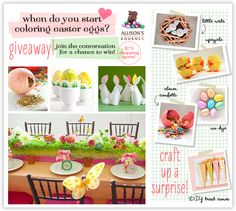 Crafting Up Easter Fun