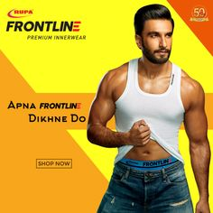 61059c03ed5 Style is a reflection of your personality.Flaunt It Like Ranveer Singh Apna  Frontline Dikhne Do! Rupa Knitwear
