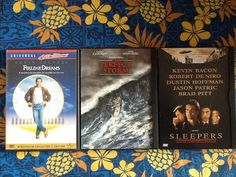 3 DVDs Field of Dreams The Perfect Storm Sleepers Costner Clooney de Niro Pitt | eBay