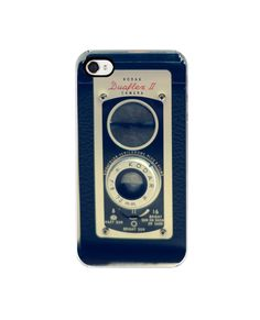 Vintage camera iphone case- hipster, iphone 4s case, geekery, Iphone case 4, unisex,  custom iphone case. $30.00, via Etsy.