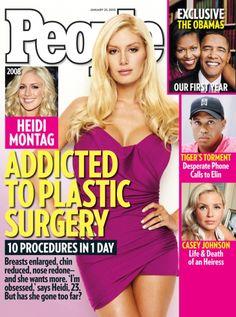 Heidi Montag 10 plastic surgeries, 2010