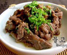 Bulgogi {Traditional Korean BBQ}
