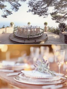 Intimate outdoor park for a wedding reception designed by wedding & event planners in Italy Sugokuii Events www.sugokuii-even... (Photography Simply Bloom)