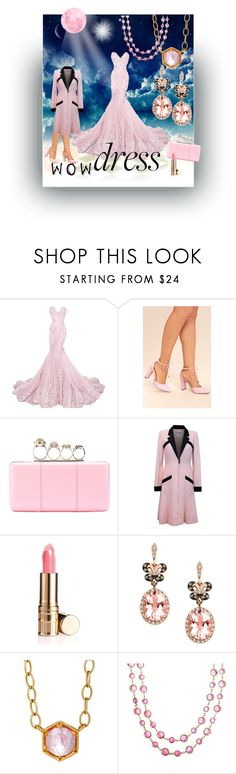"""wow."" by caroline-buster-brown ❤ liked on Polyvore featuring Chase & Chloe, Alexander McQueen, Chanel, Elizabeth Arden, Effy Jewelry, Cathy Waterman and dreamydresses"