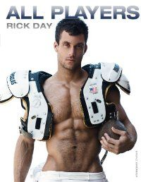 Rick Day's opulent co ffee-table books Players and Players Two both became instant bestsellers. At first glance, the photographs are all about sports, about immaculate and trained bodies in rugby wear, tight trunks or nothing at all. But Rick Day doesn't just take pictures of masculine sex appeal.