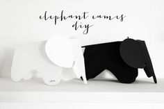 DIY // Paper Eames elephant. By Smäm.