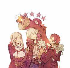 Robin, Robin, Morgan, and Morgan