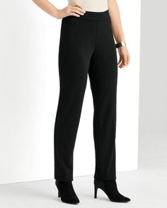 Ready for Anything Pant -- Women's essential easy-fit pull-on knit pant.