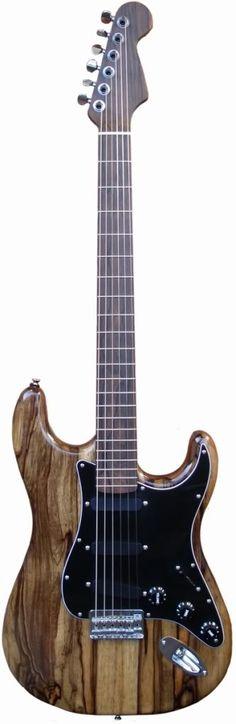 Black Korina wood