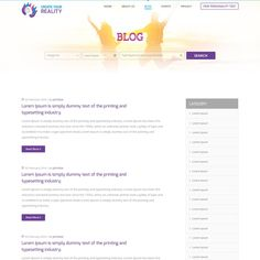 CreateYourReality.com website by house of design™ Internet Logo, Blog Search, Wordpress Theme Design, Logo Inspiration, Designs To Draw, Lorem Ipsum, Create Yourself, Website, Prints