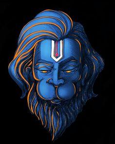 "S H ! V on Instagram: ""🎨 Artist:- @anilvrevankar . . . . . . #lordhanuman #paintingoftheday #hanumanjayanti #photooftheday #photographie #music #hanuman #epic…"" Hanuman Jayanthi, Hanuman Photos, Shiva Photos, Hanuman Images Hd, Hanuman Ji Wallpapers, Lord Shiva Hd Wallpaper, Ram Wallpaper, Lord Shiva Hd Images, Lord Shiva Family"