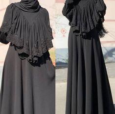 Arab Fashion, Islamic Fashion, Muslim Fashion, Saree Blouse Neck Designs, Abaya Designs, Burqa Designs, Hijab Style Dress, Modele Hijab, Hijab Trends