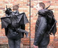 Wow! Here's something you don't see every day! Dragon Backpack!
