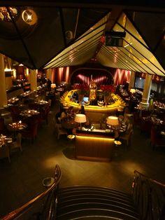 Quaglino's staircase, restaurant, Mayfair, London