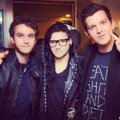 Zedd, Skrillex, & Dillon Francis