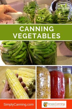 Canning vegetables is perfect for the beginner. Fresh veggies from your garden (or farmer's market) retain higher nutrition, and canning is a great way to preserve your hard work. Learn at Canning Corn, Canning Beets, Canning Vegetables, Canning Tips, Canning Tomatoes, Canning Peppers, Freezing Tomatoes, Freezing Green Beans, Canning Venison