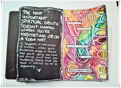 Jorunns fristed: Onsdag Art Journaling