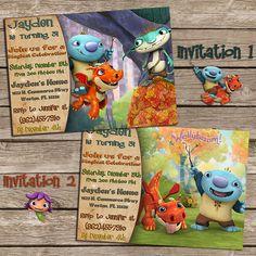 Wallykazam Birthday Invitation-Wallykazam by PoppyPartyPrint