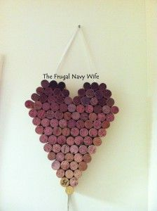 DIY: Wine Cork Heart!