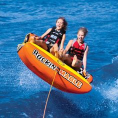 Manufacturer: Sportsstuff, Product Name: Sportsstuff Rockin Mable Inflatable Double Rider Towable , Category: Water Recreation - Towables - 2 Person, Item Type: New Water Tube, Safety Valve, Head To Toe, Water Sports, Rafting, Dream Life, Hot Dogs, Envy, Boats