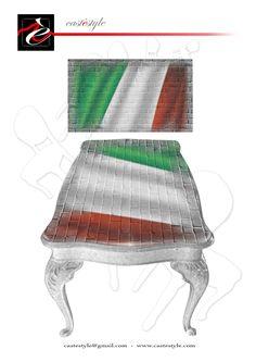 Tavolo Chippendale Italia Mondiale