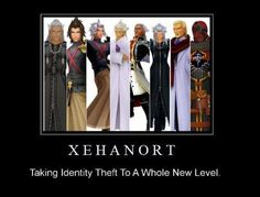 You forgot Master Xehanort. And Diz/Ansem isn't Xehanort, Terra-Nort just stole his name...
