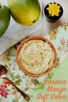 Bananas, mangos and shredded coconut are all you need to make this easy and delicious sweet treat!