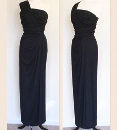A personal favourite from my Etsy shop https://www.etsy.com/uk/listing/483235688/vintage-1950s-bombshell-black-draped