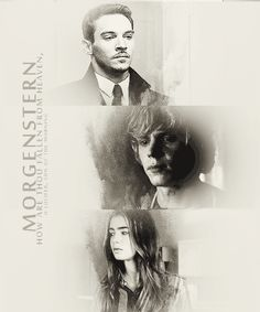 The Morgensterns. Valentine, Clary and Jonathan