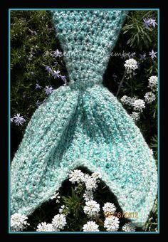 Crochet Pattern for Mermaid Tail Photography by crochetbyjennifer, $5.00