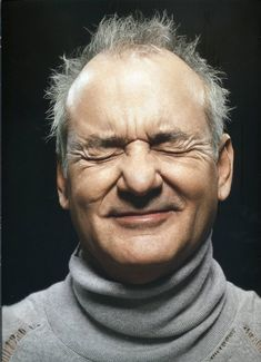 Bill Murray laughing