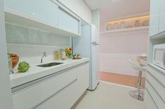 Decorado 81m² cozinha | Flickr - Photo Sharing!