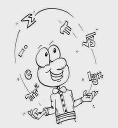"""Lo scopo della """"Matematica moderna"""" è di incoraggiare la comprensione della Matematica piuttosto, che la cieca comprensione dei simboli. Il vero matematico non è un giocoliere con i numeri ma un giocoliere con i concetti.- Ian Stewart #mattamatica"""