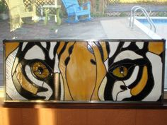 By Denise Ackley : Eyes Of The Tiger. - via Etsy.