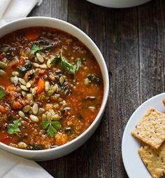 Quinoa   Lentil   Vegetable Soup