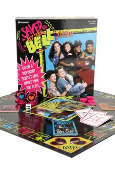 THROOOWBACK! Saved By The Bell Game! For all of those that loved the 90's #Gifts #Throwback