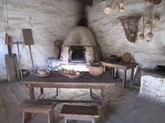 Kitchen, corner oven, La Purisima Mission, California   Flickr - Photo Sharing!