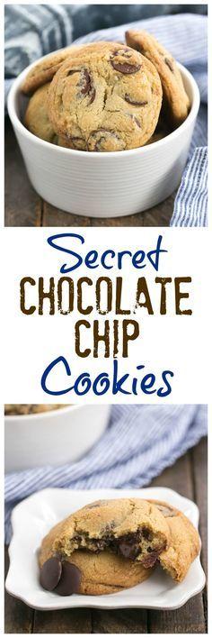 Secret Chocolate Chip Cookie