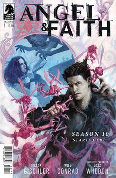 Dark Horse 2013 NEW UNREAD Angel /& Faith Comic Book Season 9 #25 Cover B Buffy