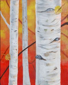 Aspen Forest by osvinci on Etsy
