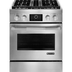 """Slide-In Modular Dual-Fuel Downdraft Range with Convection, 30""""   Jenn-Air"""