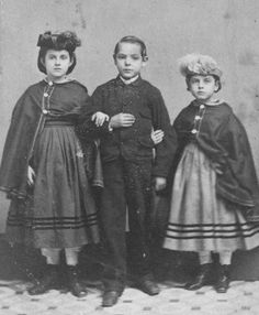 Rebecca, Charley & Rosa, slave children from New Orleans, 1863. They are the offspring of white fathers through two or three generations - via reddit [[MORE]] The Young White Faces of Slavery For Northern readers scanning the Jan. 30, 1864, issue of Harper's Weekly for news from the South, a large engraving on page 69 brought the war home in an unexpected way. Drawn from a photograph, it featured eight recently freed slaves from Union-occupied New Orleans. At the back of the portrait stood…