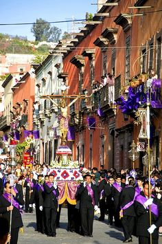 Procesion del Santo Entierro - San Miguel de Allende, Mexico