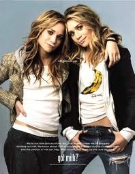 this mary kate and ashley olsen milk add was my absolute obsession for so long! #imean